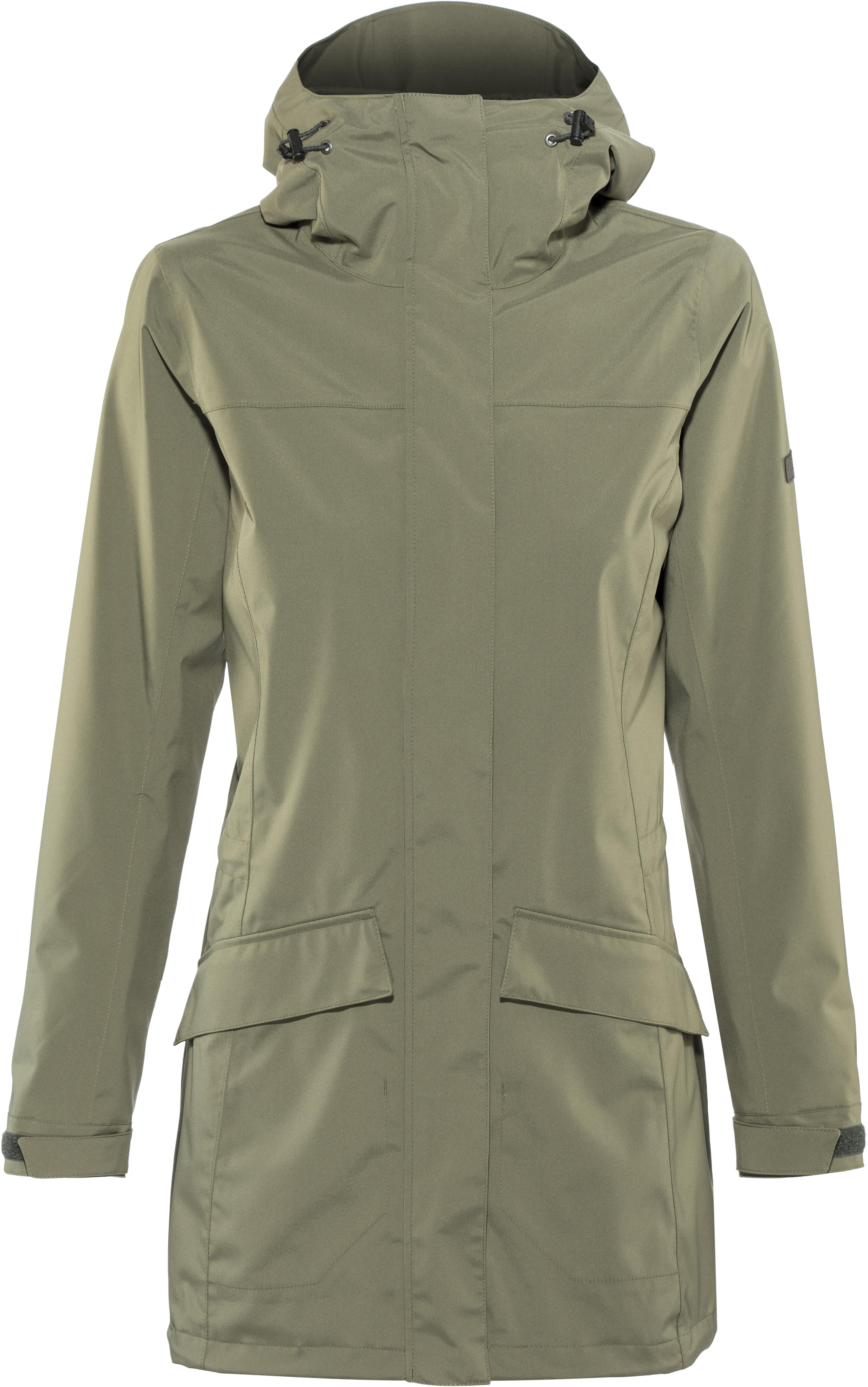 49ca3c25f07 Bergans Oslo 2L Jacket Women green mud at Addnature.co.uk
